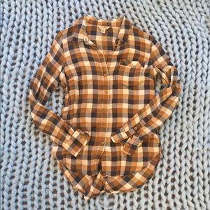 Lucky Brand Flannel Shirt